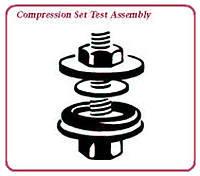 compression set test assembly