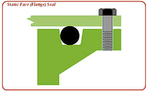 flange seal diagram